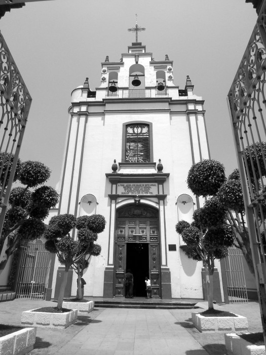 La Iglesia de los Santos Ángeles, Guadalajara, Mexico