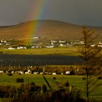 Rainbow over Achill Island, Eire