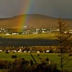 Rainbow over Achill Island, Eire