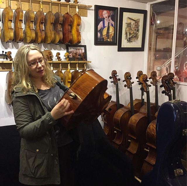 @bethanfisher delighted with James Powell's cello fixing skillz